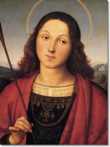 raphael-santi-european-master-painter-saint-sebastian